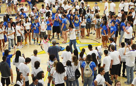 Link Crew  welcomes freshman  with FIT  Orientation
