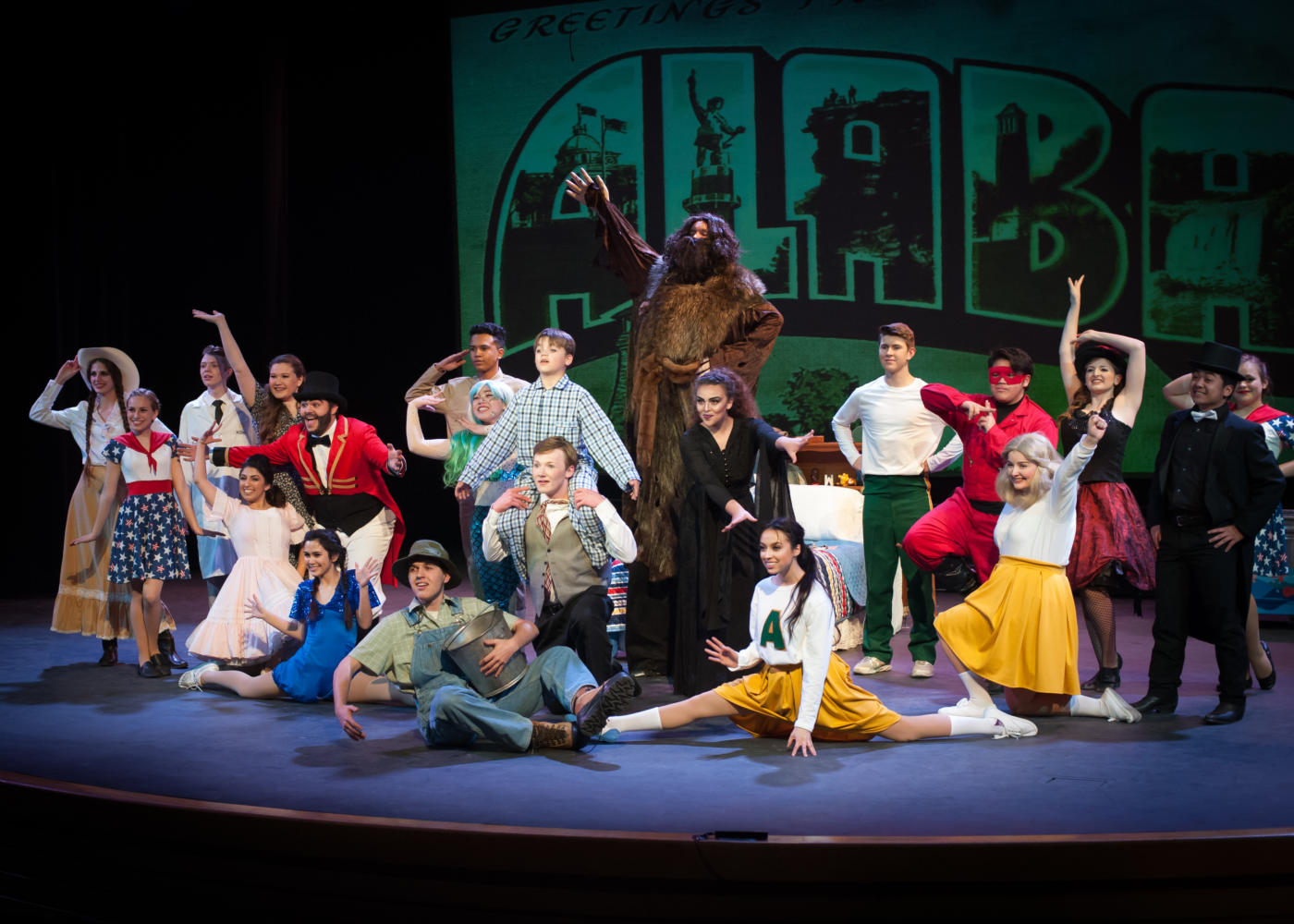 Heritage high school performs famous play big fish for Big fish characters