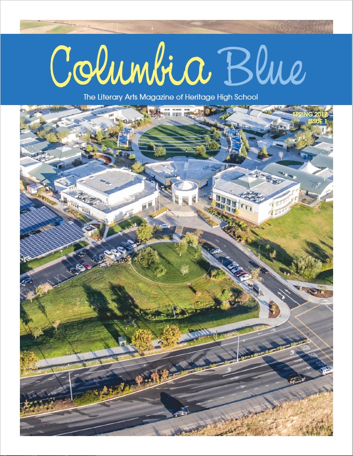 HHS Publications Releases First Issue of Columbia Blue, a Student Literary Arts Magazine