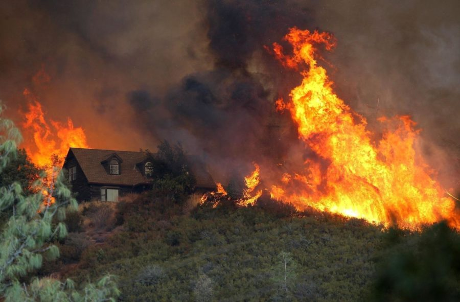 Fires Sweep Through Northern California