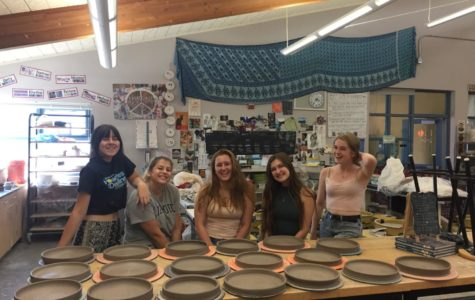 Heritage's Clay Club throws for the Community