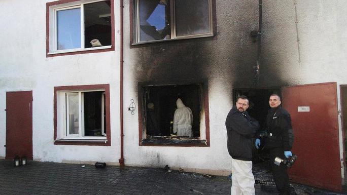 Escape Room Burned Down