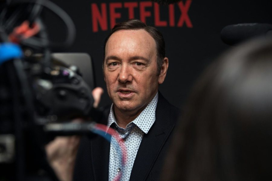 Kevin Spacey appears to be inching his way back into public life.