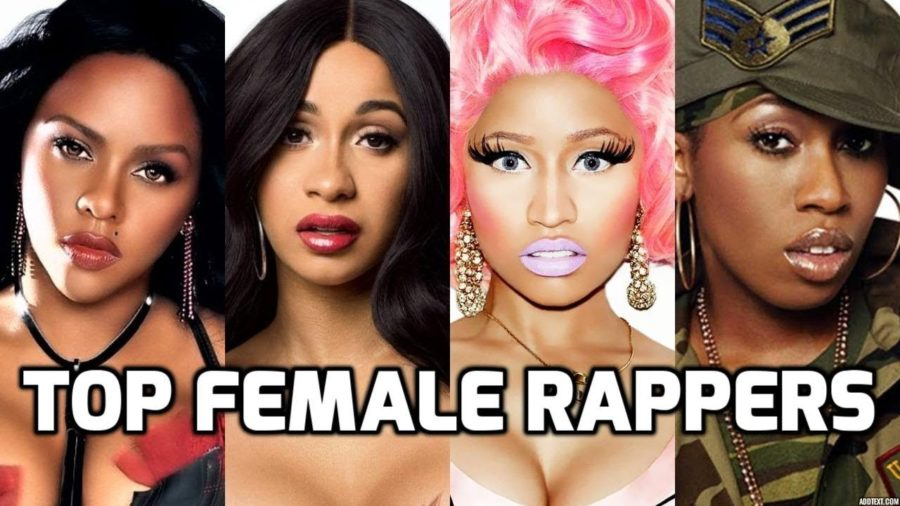 Female+Rappers+in+Trend