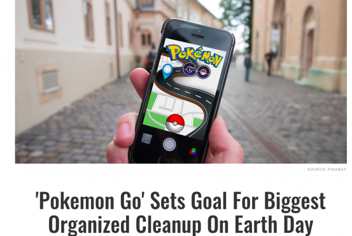 Pokémon Go Clean Up