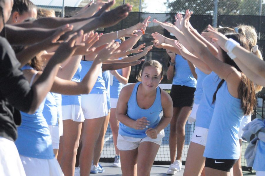 Girls Tennis Upcoming NCS